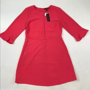 Banana Republic Pink Bell Sleeve Dress
